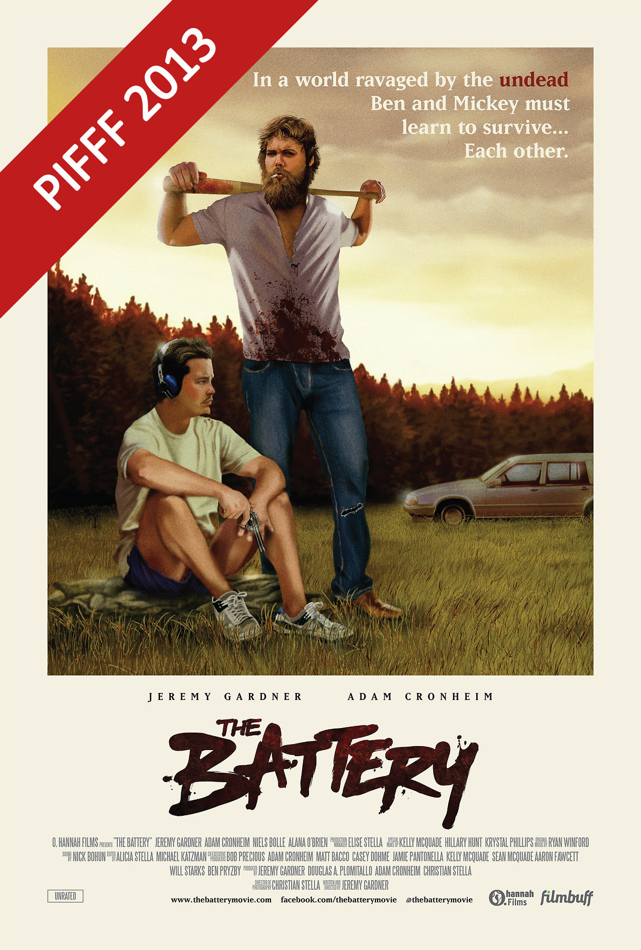 Battery poster
